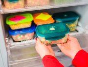 back to school refrigerator organization